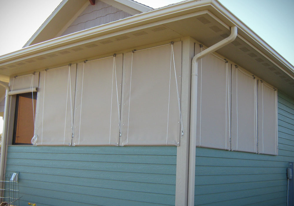 Porch Curtains @ Northrop Awning Company