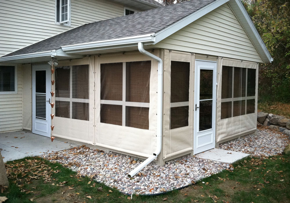 Porch Curtains Northrop Awning Company