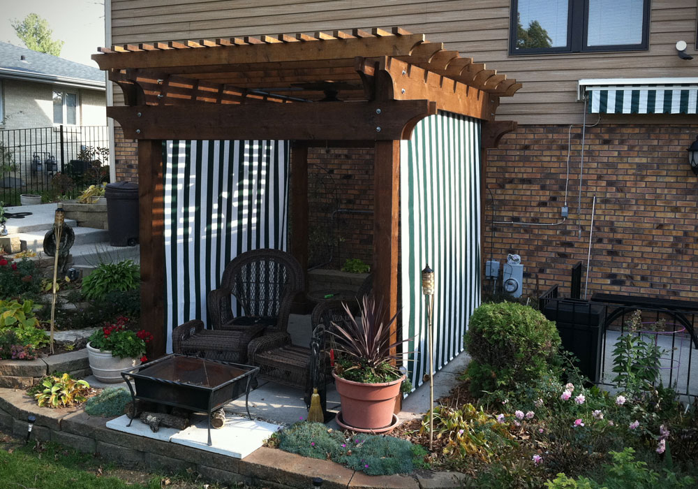 Outdoor Patio Curtains